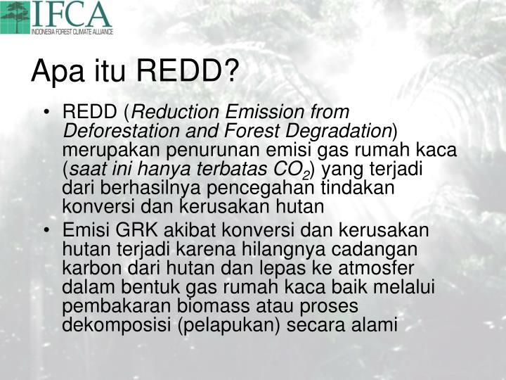 Apa itu REDD?