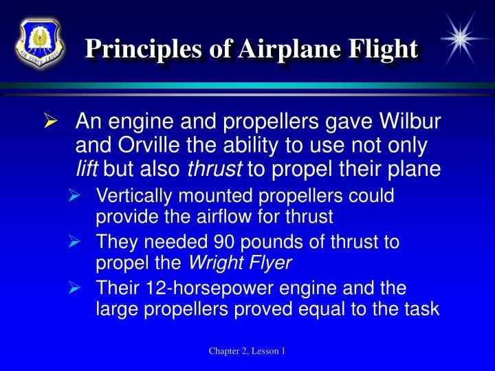 Principles of Airplane Flight