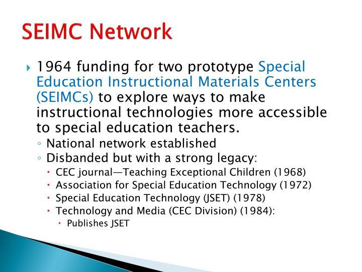 SEIMC Network