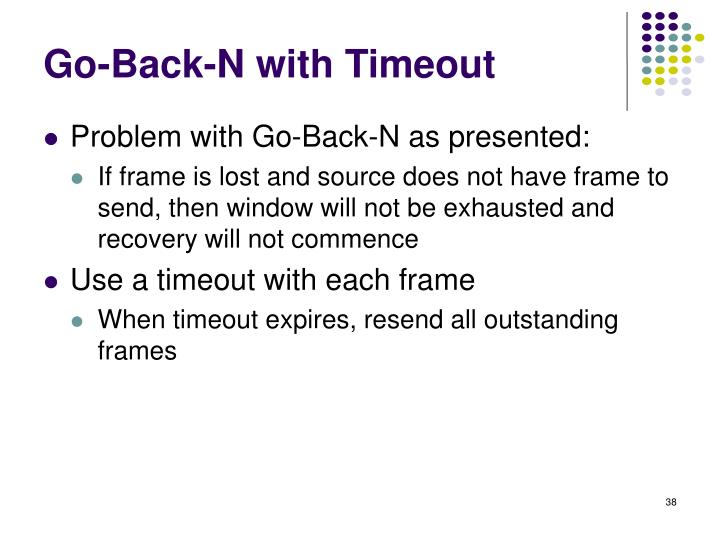 Go-Back-N with Timeout