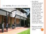 ini hotel rose and crown
