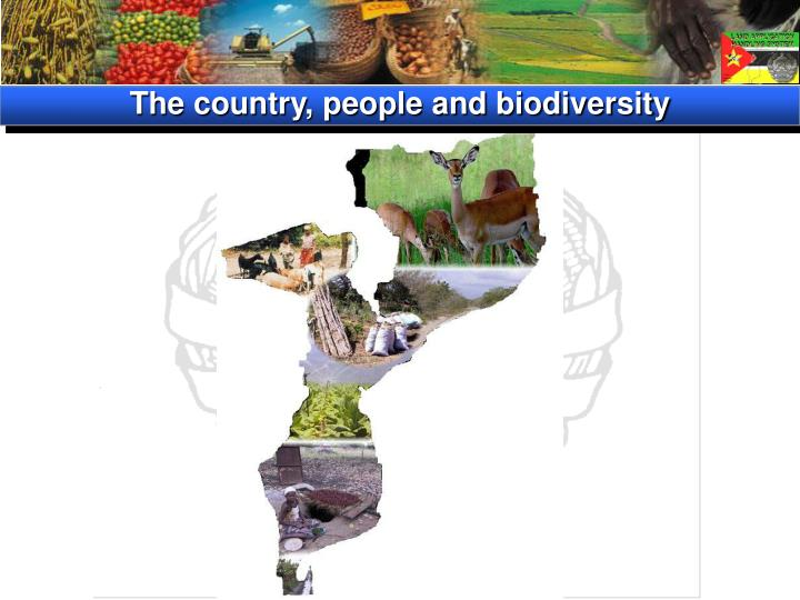 The country, people and biodiversity