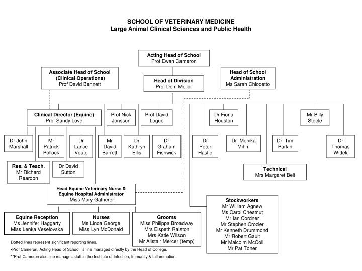 SCHOOL OF VETERINARY MEDICINE