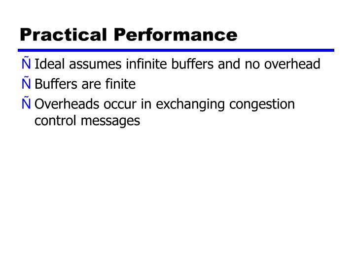 Practical Performance