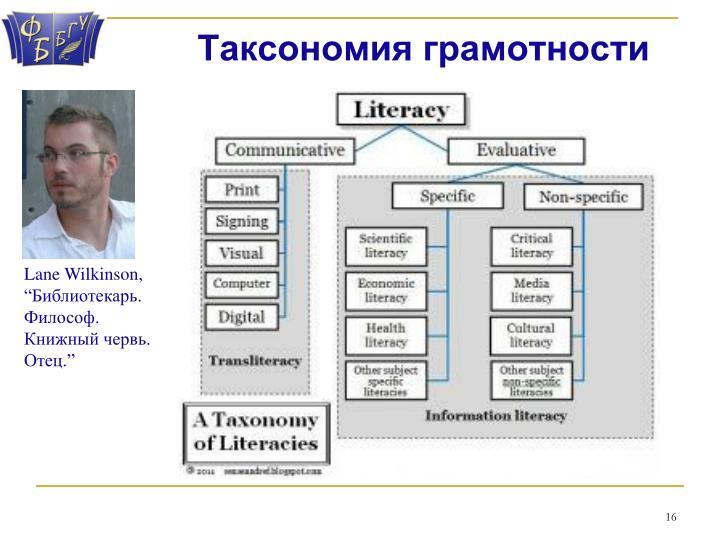 Таксономия грамотности