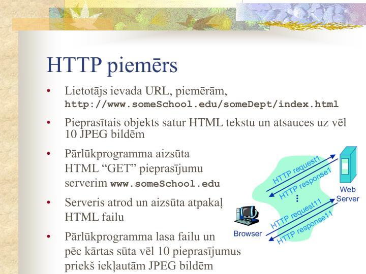 HTTP piemērs