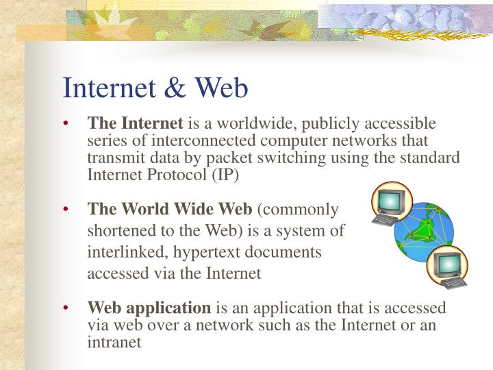 Internet & Web