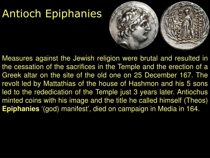 Antioch Epiphanies