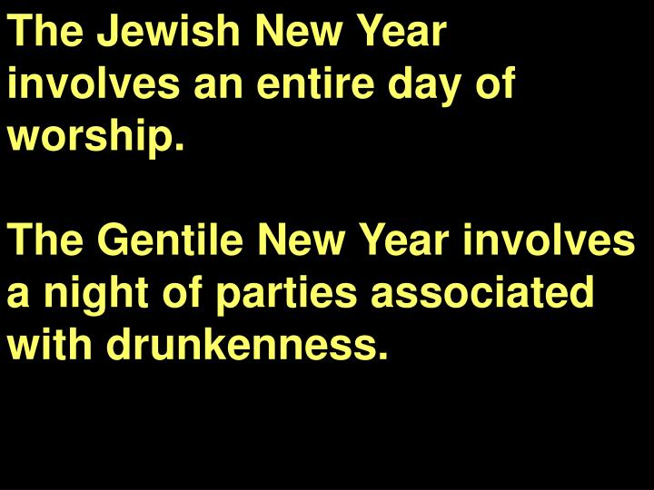 The Jewish New Year