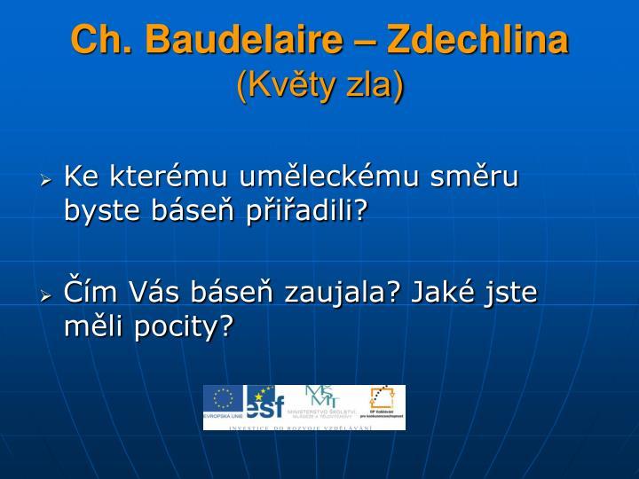 Ch. Baudelaire – Zdechlina