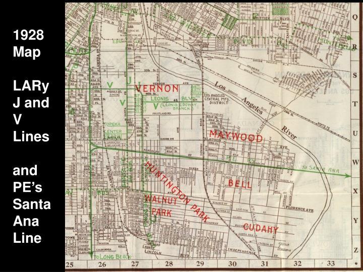 1928 Map