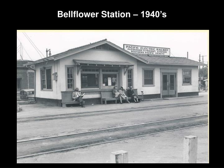 Bellflower Station – 1940's