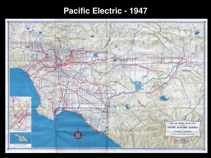 Pacific Electric - 1947