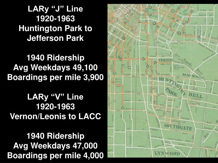 "LARy ""J"" Line"