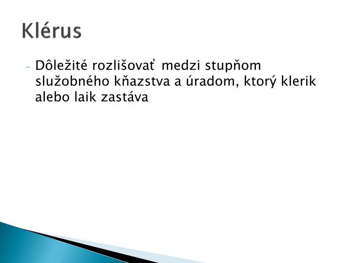 Klérus