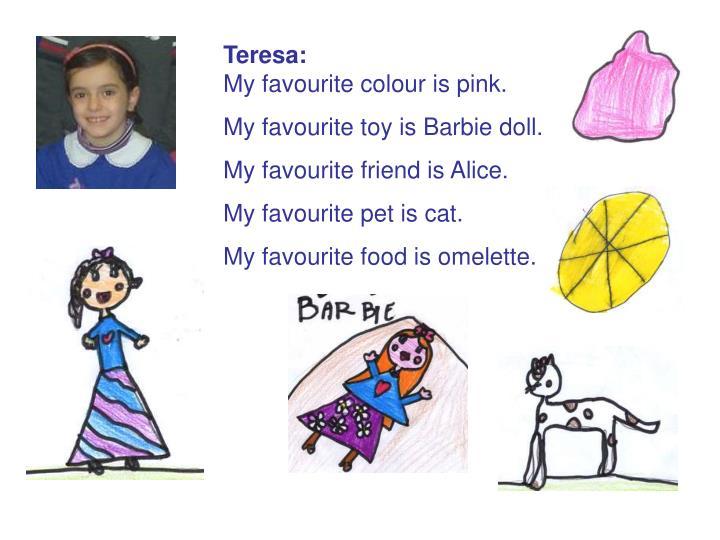 Teresa: