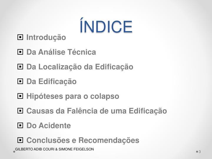NDICE