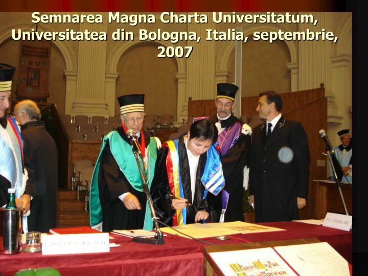 Semnarea Magna Charta