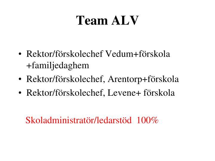 Team ALV