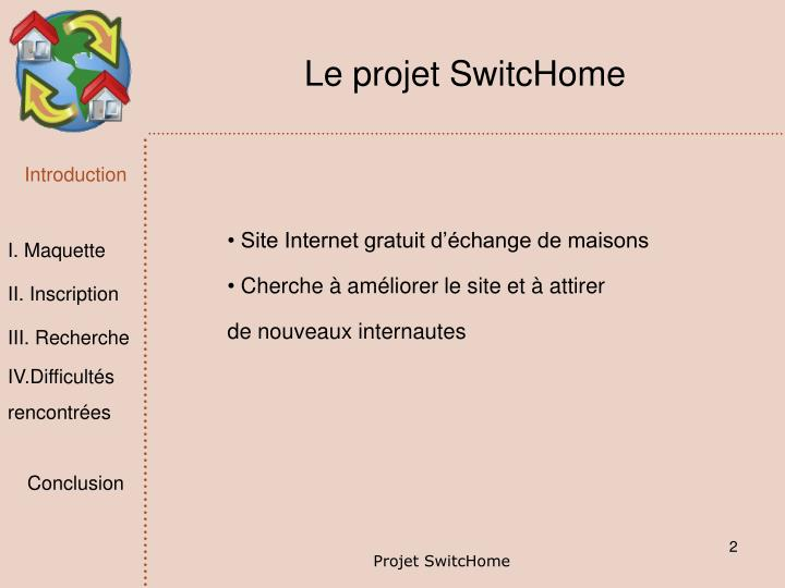 Le projet SwitcHome