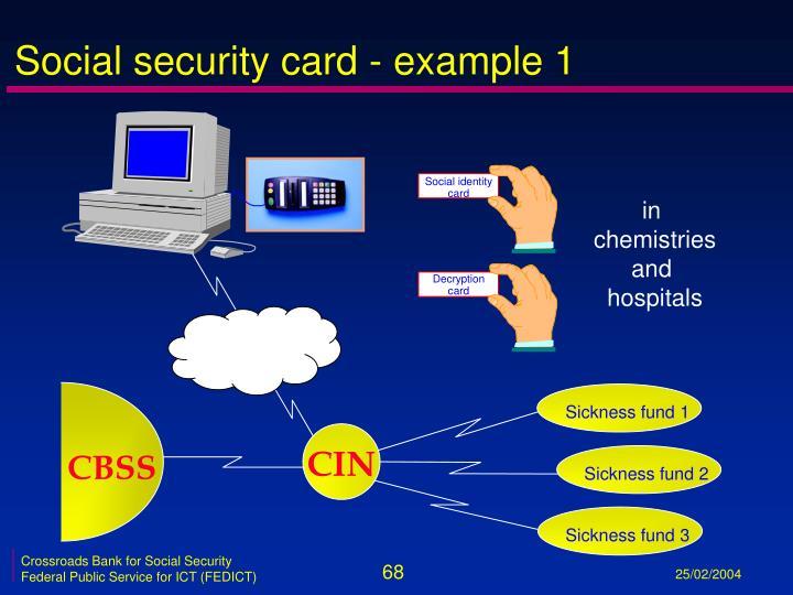 Decryption card