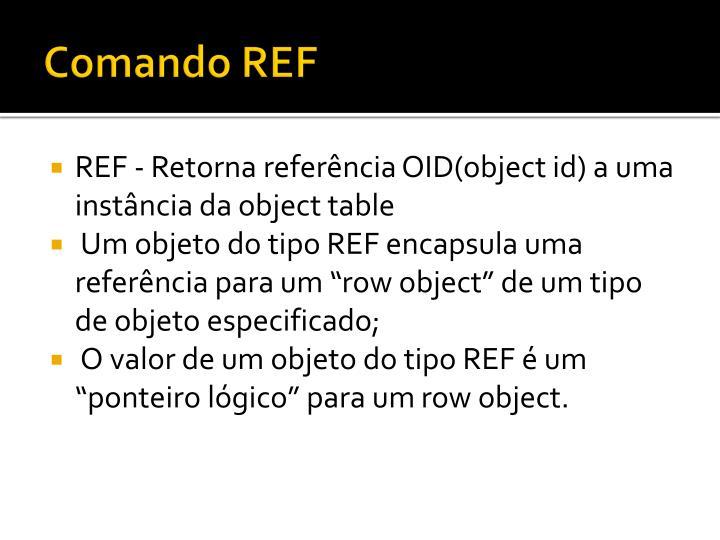Comando REF