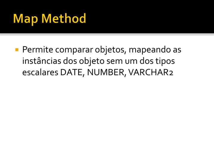 Map Method