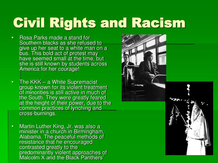Civil Rights and Racism