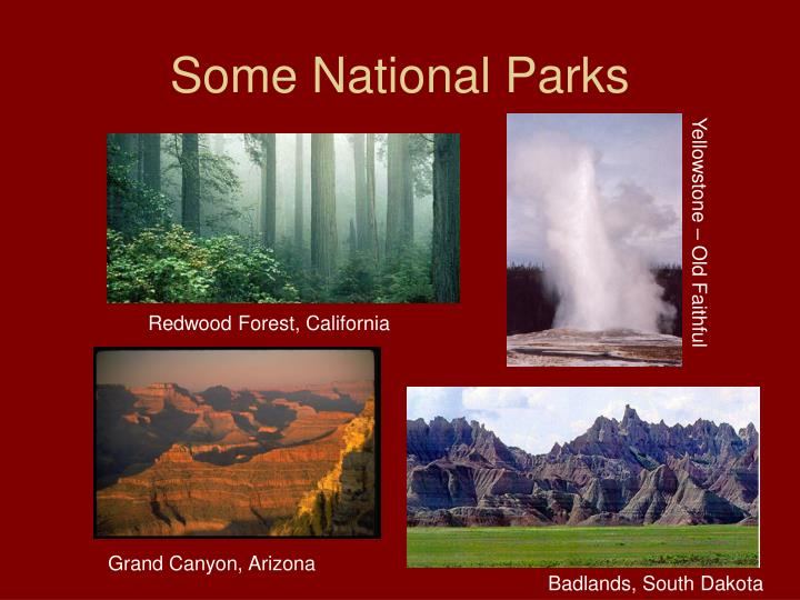 Some National Parks