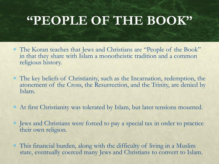 """PEOPLE OF THE BOOK"""