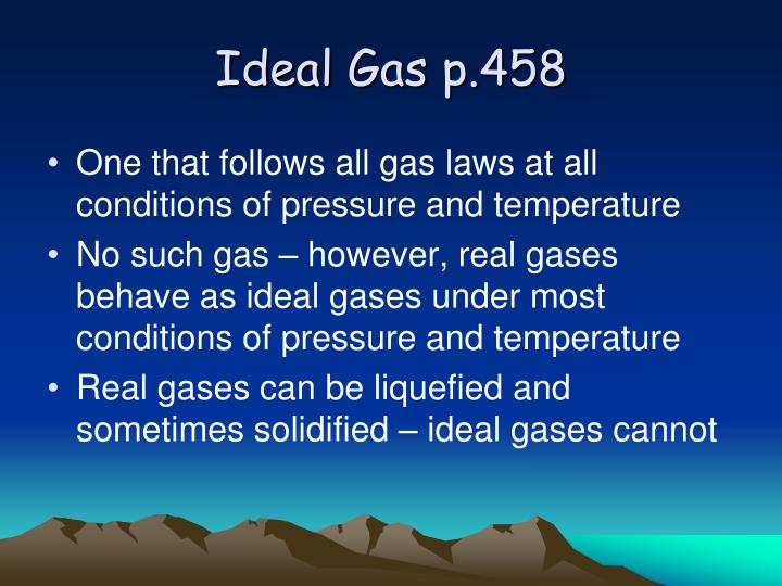Ideal Gas p.458