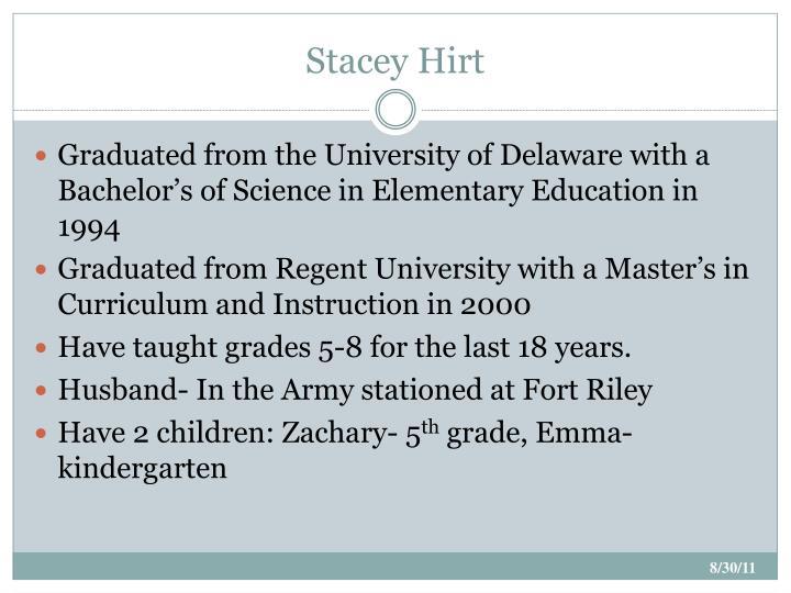 Stacey Hirt
