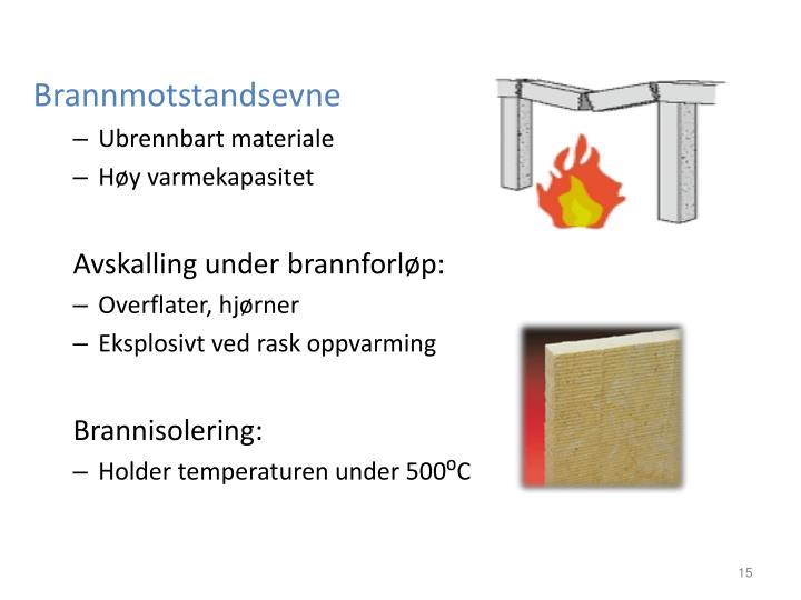 Brannmotstandsevne