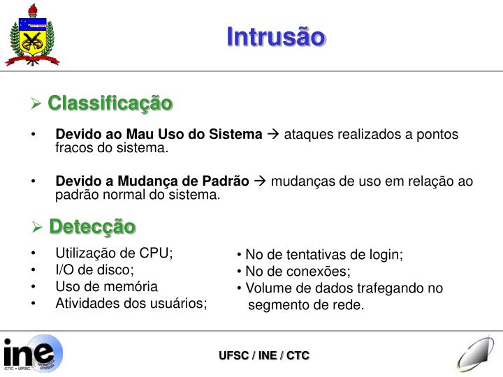 Intrusão