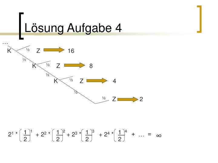 Lösung Aufgabe 4