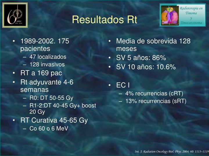 1989-2002. 175 pacientes