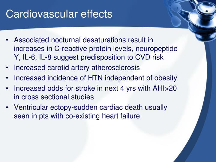 Cardiovascular effects