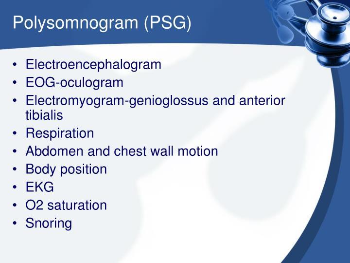Polysomnogram (PSG)