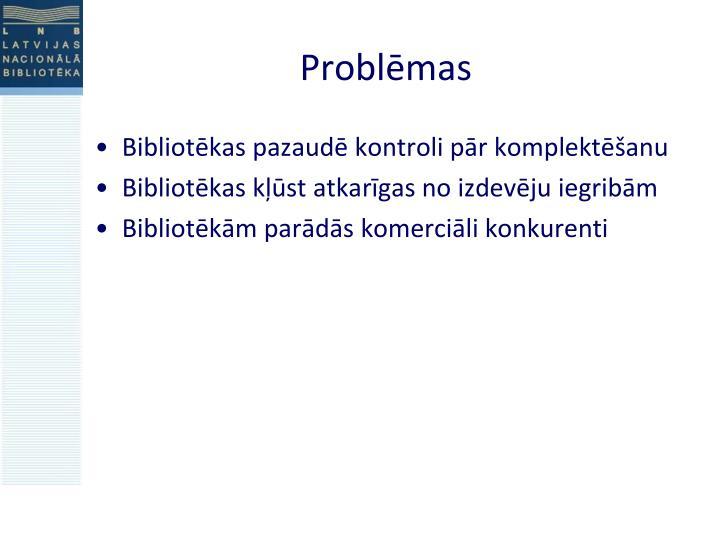 Problēmas