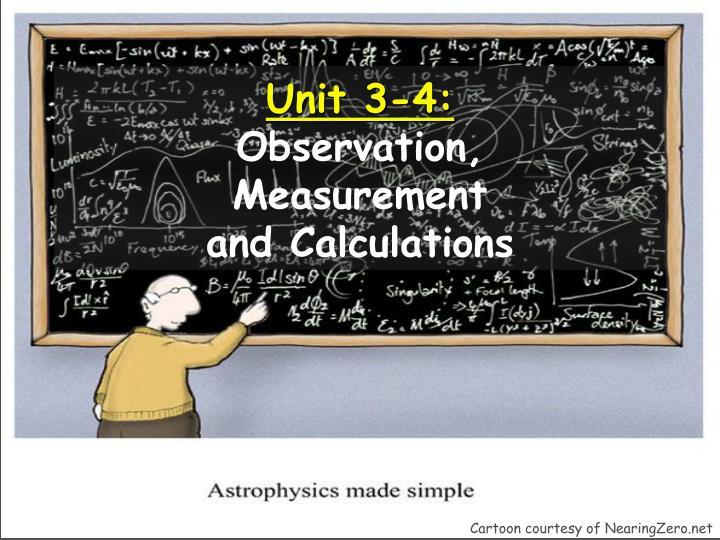 Unit 3-4: