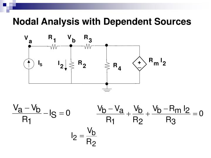Nodal Analysis with Dependent Sources