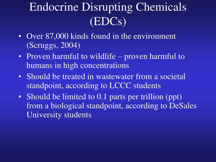 Endocrine Disrupting Chemicals (EDCs)