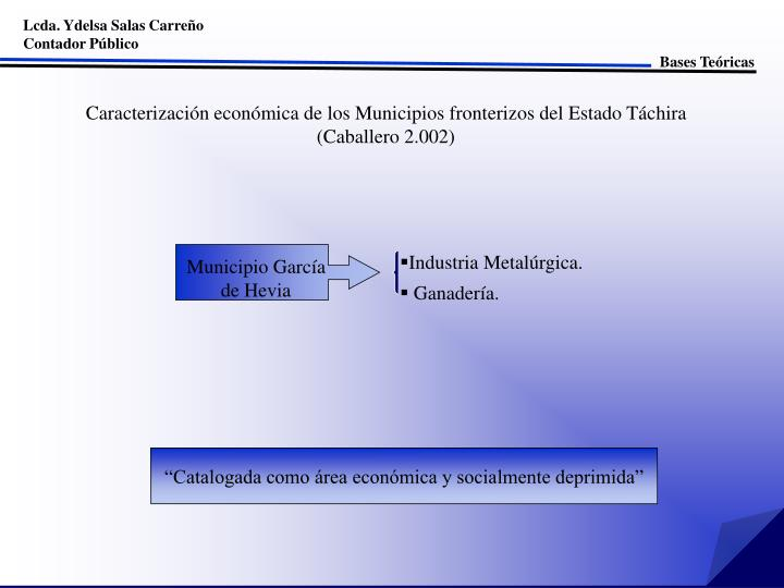 Lcda. Ydelsa Salas Carreño