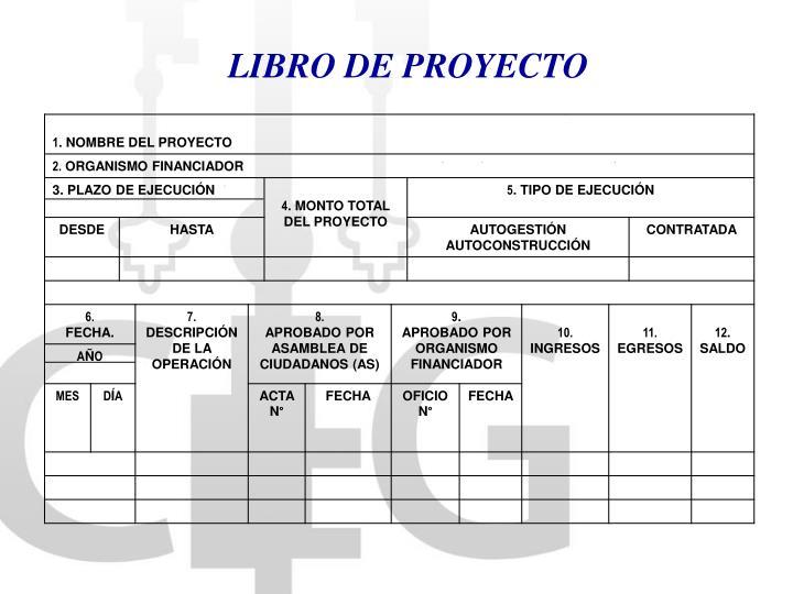 LIBRO DE PROYECTO