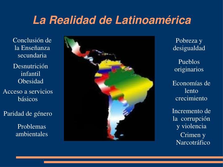 La Realidad de Latinoamérica