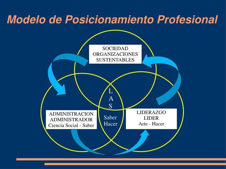 Modelo de Posicionamiento Profesional