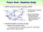 future work simulation study