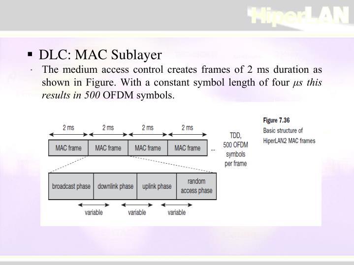 DLC: MAC