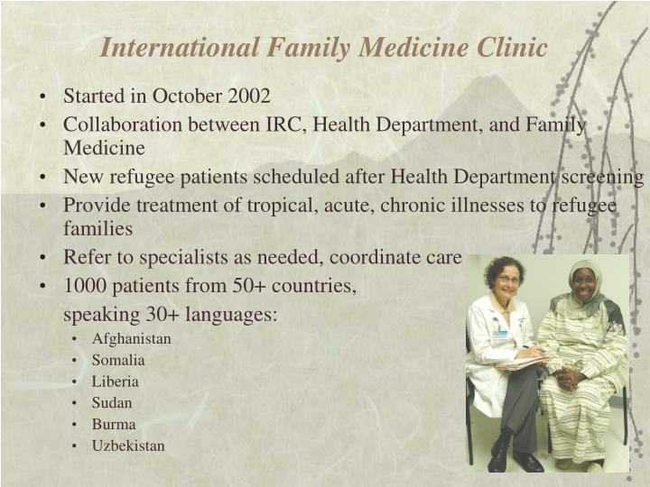 International Family Medicine Clinic