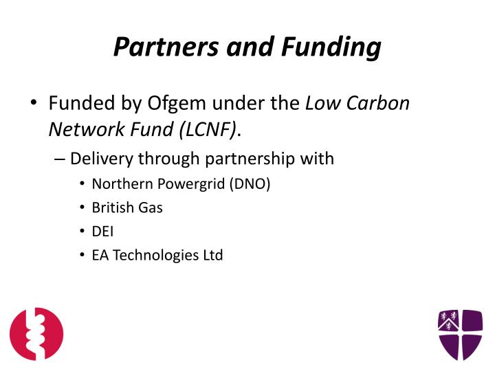 Partners and funding